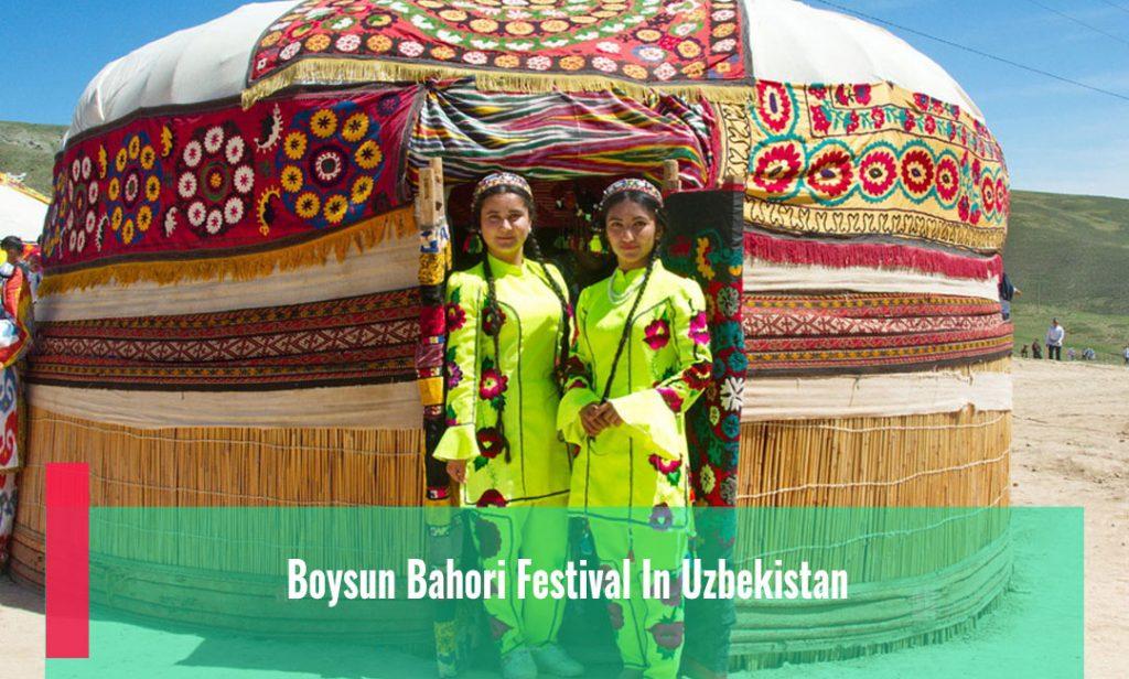 Boysun Bahori Festival In Uzbekistan