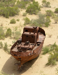 The Aral Sea Attractions