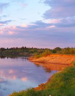 The Syrdarya River