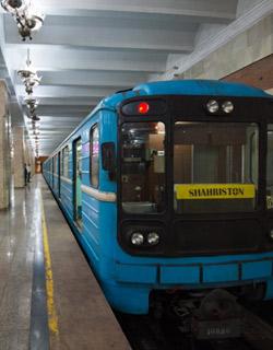 Ride The Metro In Tashkent