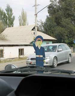 Driving In Uzbekistan