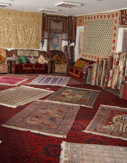 Samarkand Silk Carpet Factory