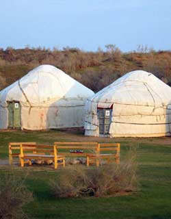 Uzbekistan Camping