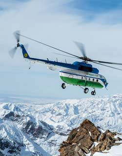 Helicopter Tours In Uzbekistan