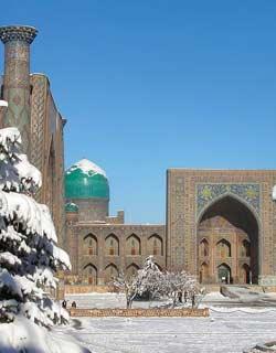 Winter Tourism In Uzbekistan