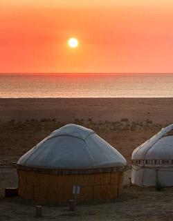 Uzbekistan Yurt Camping