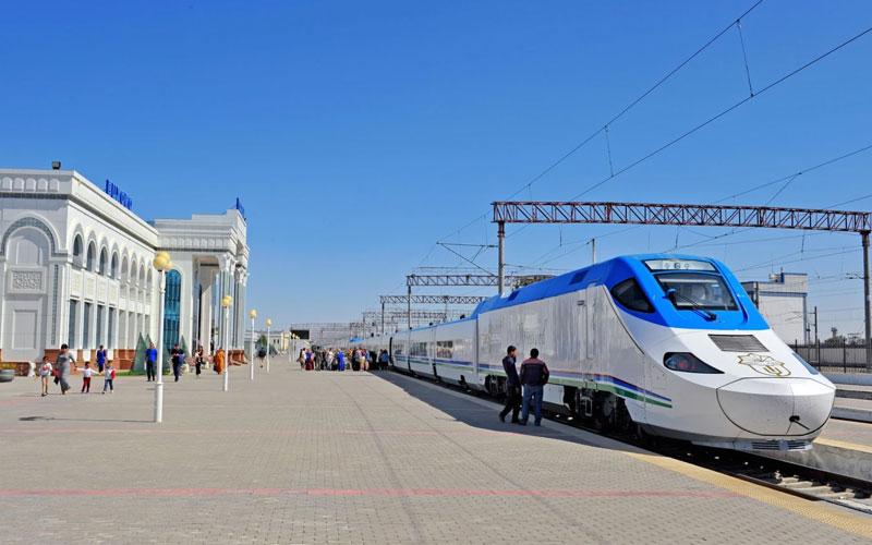 Uzbekistan By Train
